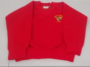 V-neck Sweatshirt